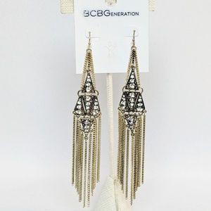 BCBG Generation Gold Chandelier Earrings